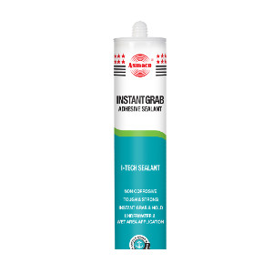 Asmaco Instant Grab Underwater Wet and Dry Adhesive & Sealant 280ml